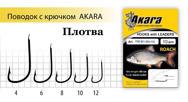 размеры крючков для ловли плотвы