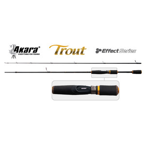 Сп. шт. уг. 2 колена Akara 3169 Effect Series Trout IM8 (4-18) 1,8 м